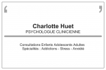 Huet Charlotte Psychologue psychologue