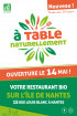 A Table Naturellement restaurant